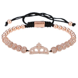 Queen Lux-Gouden armband dames-Gouden armband-Rose Gold-TrendBody
