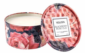 Voluspa Blackberry Rose Oud Candle