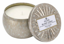 Load image into Gallery viewer, Voluspa Fragrant Tin Candle