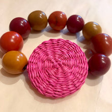 Load image into Gallery viewer, Tagua Nut Disc Bracelet