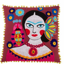 Load image into Gallery viewer, Frida Kahlo Accent Pillow