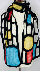 Mondrian-Inspired Scarf