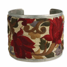 Load image into Gallery viewer, Red Embroidered Cuff