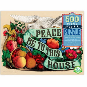 Peace Be To This House Foil Puzzle