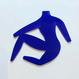 Matisse-Inspired Brooch