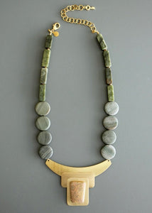 David Aubrey Jasper Necklace