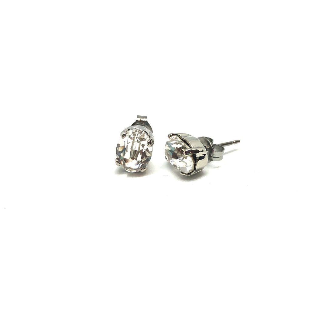 Mini Swarovski Stud Earrings