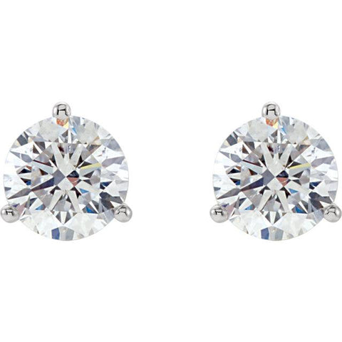 SCE-00510 Large - Diamond Earrings - Sparkle Cut Diamonds