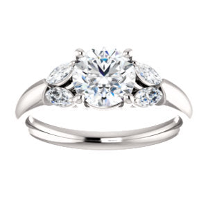 4-Stone Accented Ring