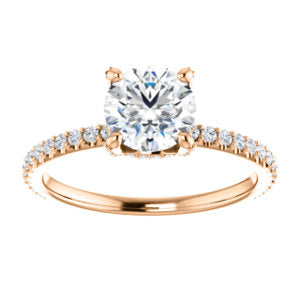 Diamond Basket Ring