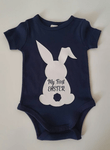 My First Easter Onesie Blue