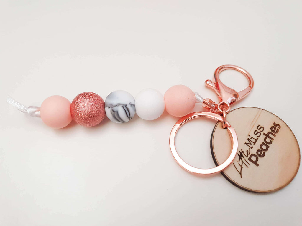 Rose Gold Key Chain