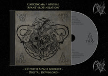 Load image into Gallery viewer, Abyssal, Carcinoma - Apanthropinization (CD)
