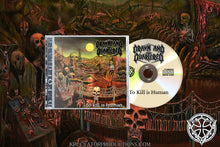 "Load image into Gallery viewer, DRAWN AND QUARTERED -  ""To Kill is human"" (CD)"