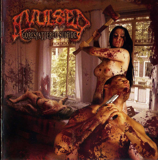Avulsed ‎– Gorespattered Suicide (CD)