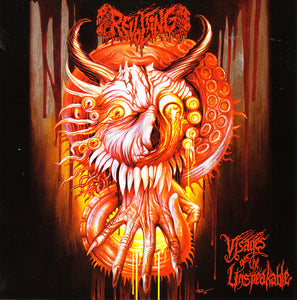Revolting ‎– Visages Of The Unspeakable (CD)