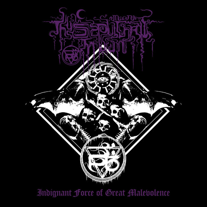 Thy Sepulchral Moon ‎– Indignant Force Of Great Malevolence (CD)