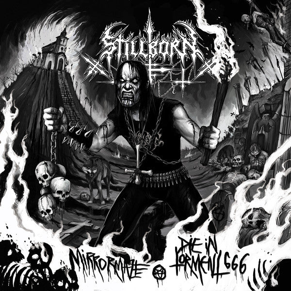 Stillborn  ‎– Mirrormaze & Die In Torment 666 (CD)