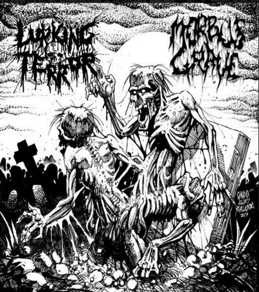 Lurking Terror / Morbus Grave ‎– Omega Doom (CD)