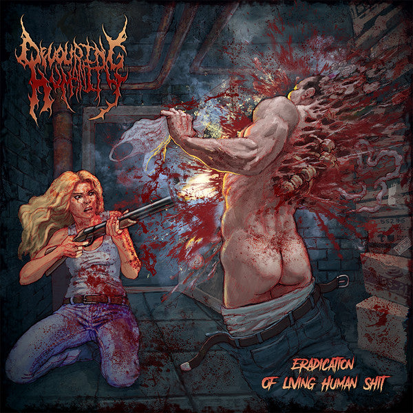 Devouring Humanity ‎– Eradication Of Living Human Shit (CD)