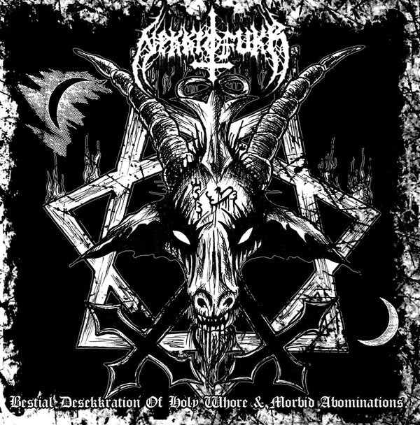 Nekkrofukk – Bestial Desekkration of Holy Whore & Morbid Abominations  (CD)