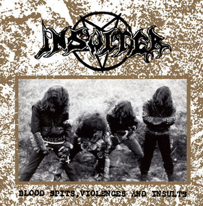 "Insulter ""Blood Spits, Violences and Insults"" (CD)"