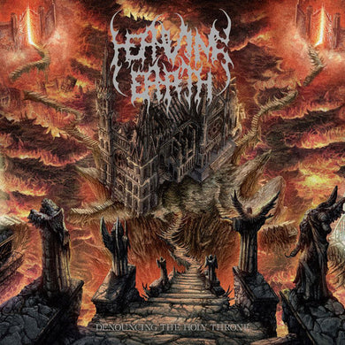 Heaving Earth ‎– Denouncing The Holy Throne (CD)