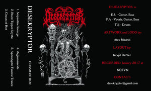 Desekryptor ‎– Chasm Of Rot (Tape)