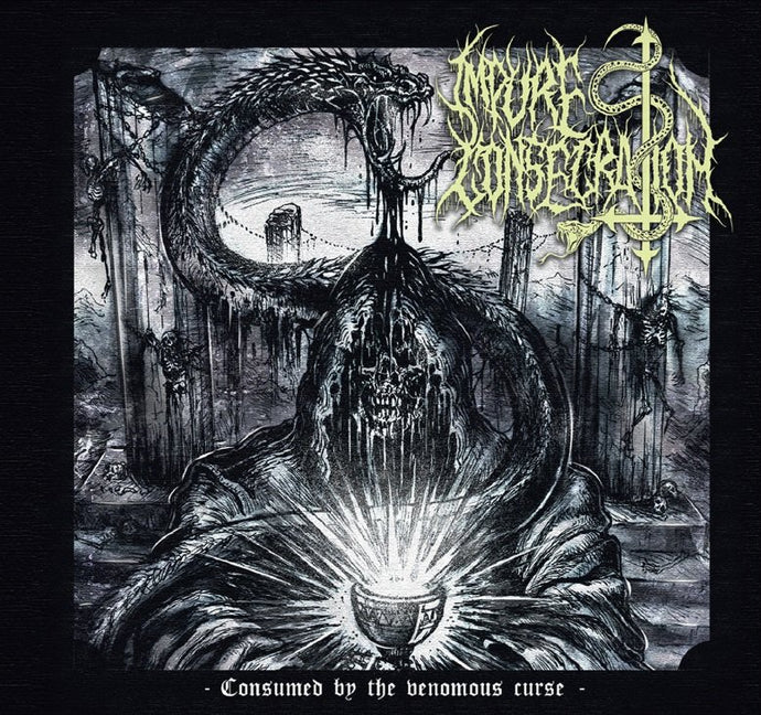 Impure Consecration ‎– Consumed By The Venomous Curse (CD)