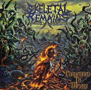 Skeletal Remains ‎– Condemned To Misery (CD)
