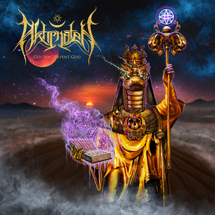 Akhenaten  ‎– Golden Serpent God  (CD)