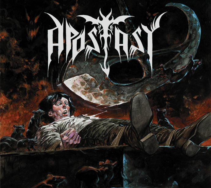 Apostasy ‎– The Blade of Hell  (CD) Digipack