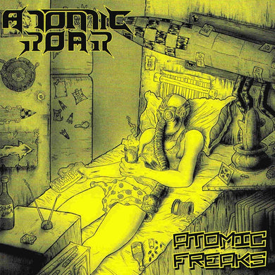 Atomic Roar ‎– Never Human Again (CD)