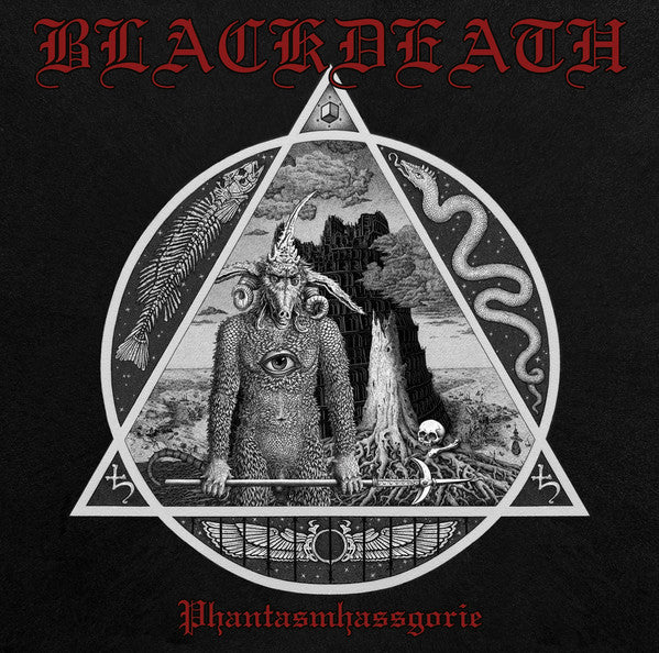 Blackdeath ‎– Phantasmhassgorie (CD)