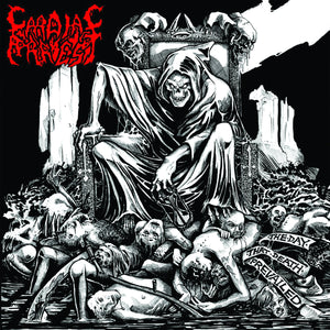 Cardiac Arrest  ‎– The Day That Death Prevailed (CD)