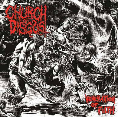 Church of Disgust ‎– Veneration Of Filth (CD)