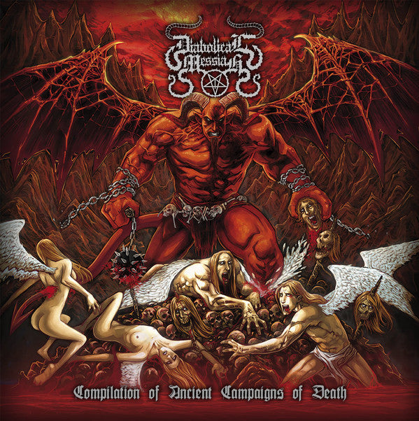 Diabolical Messiah ‎– Compilation Of Ancient Campaigns Of Death (CD)