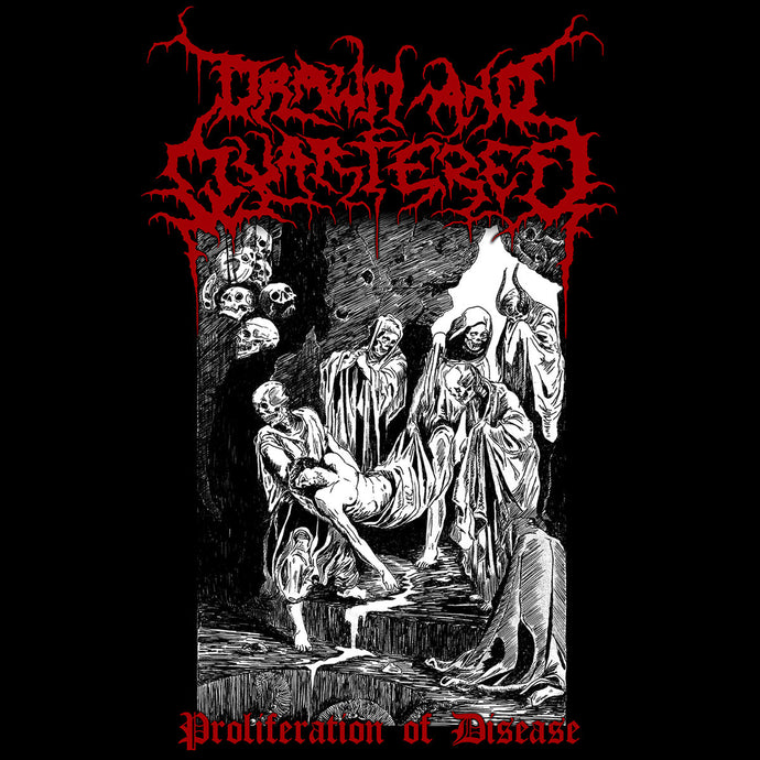 Drawn And Quartered ‎– Proliferation Of Disease (CD)