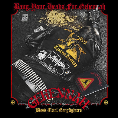 "Gehennah ""Bang Your Heads For Gehennah – Blood Metal Gangfighters"" (Compilation Tribute To Gehennah) (CD)"