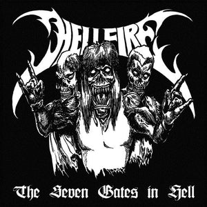 Hellfire  ‎– The Seven Gates In Hell (CD)