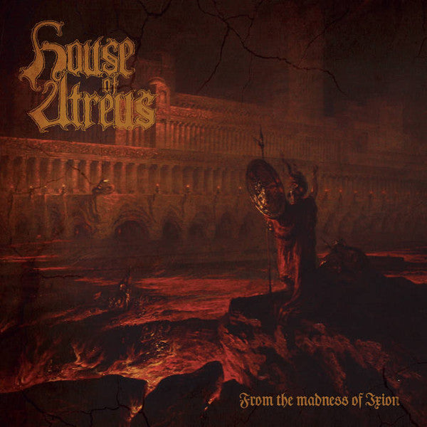 House Of Atreus  ‎– From The Madness Of Ixion  (CD)