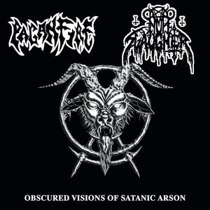 NunSlaughter, Paganfire ‎– Obscured Visions Of Satanic Arson(CD)