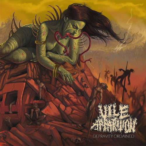 Vile Apparition ‎– Depravity Ordained (CD)