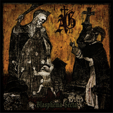 Abysmal Grief ‎– Blasphema Secta (CD) Digipack