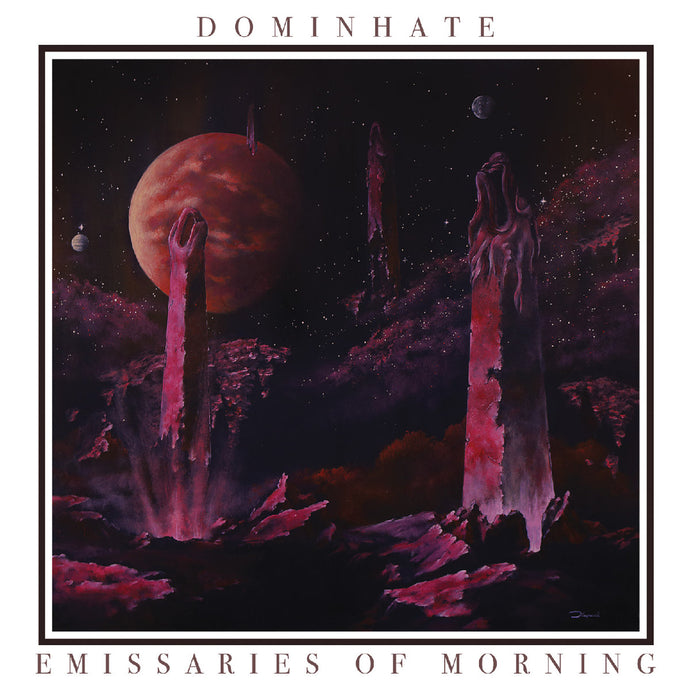 Dominhate ‎– Emissaries Of Morning (CD)