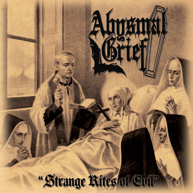 Abysmal Grief ‎– Strange Rites Of Evil (CD)