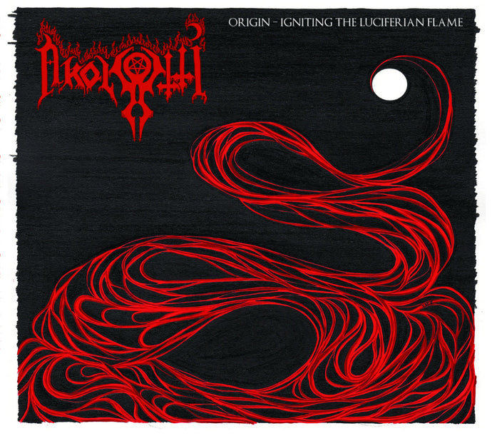 Akolyytti ‎– Origin – Igniting the Luciferian Flame (CD) Digipack