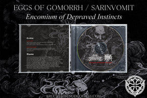 EGGS OF GOMORRH / SARINVOMIT - Encomium of Depraved Instincts