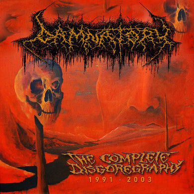Damnatory ‎– The Complete Disgoregraphy 1991-2003 (CD)