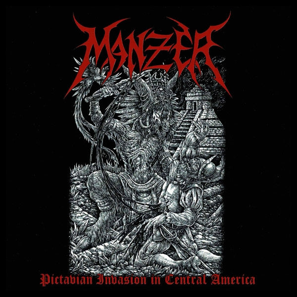 Manzer ‎– Pictavian Invasion In Central America   (2XCD)